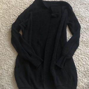 Chunky black cardigan